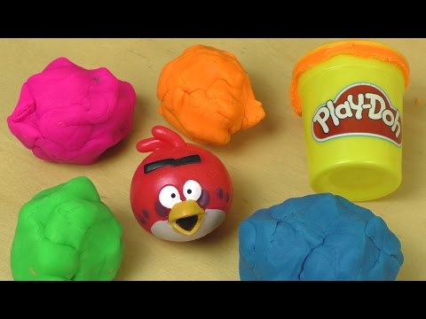 Play Doh Angry Birds Surprise Fun Unboxing video
