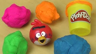 Play Doh ANGRY BIRDS Surprise Fun Unboxing