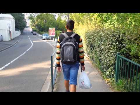 Путь из дому к работе