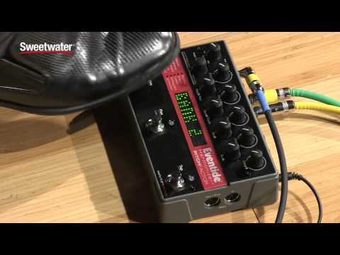 Eventide PitchFactor Harmonizer Pedal Demo by Sweetwater