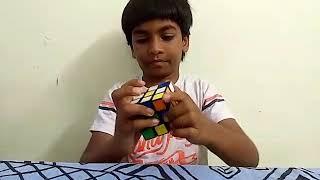 """Aaru solving """"Rubik's Cube""""  👏👏👏"""