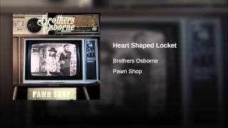 Brothers Osborne Heart Shaped Locket