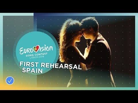 Amaia y Alfred - Tu Canción - First Rehearsal - Spain - Eurovision 2018