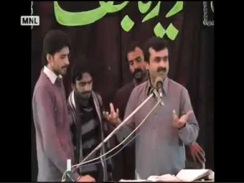 Zakir Qazi Waseem Abbas  New Qasida  2013  Munazra  video