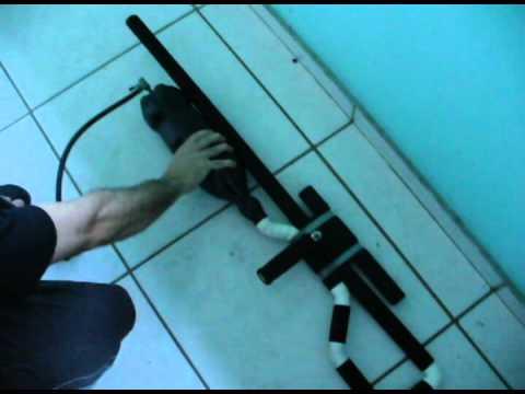 Demonstração da Arma de Pressão