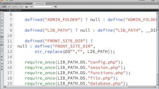 create website with php part 9