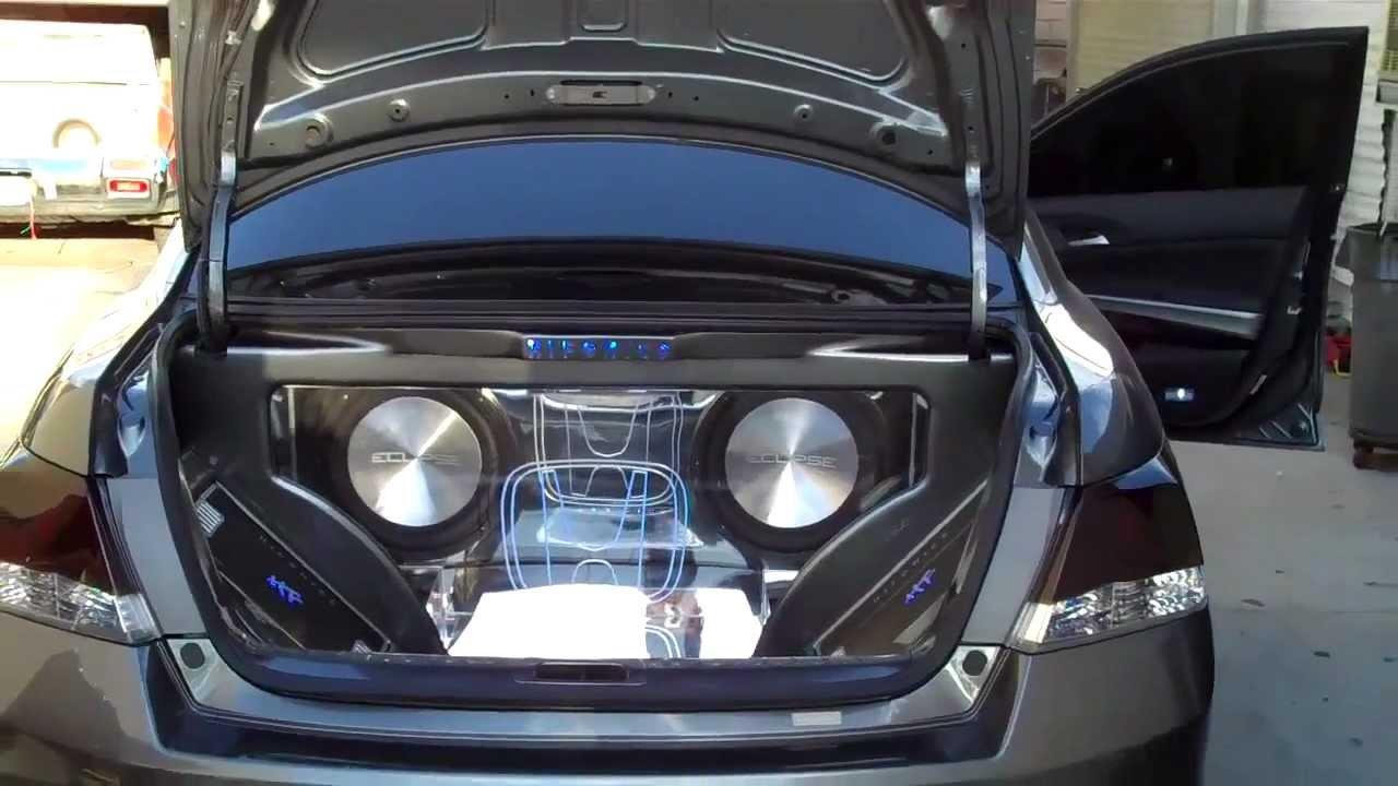 Custom Sound Honda Accord 2010 Youtube