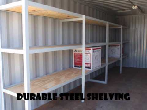 Custom Container 20 Tool Shed YouTube