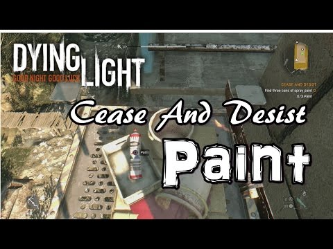 Three Cans Of Spray Paint Dying Light