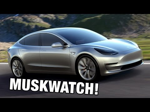 MUSKWATCH: Tesla Model 3 and the Gigafactory Revealed!