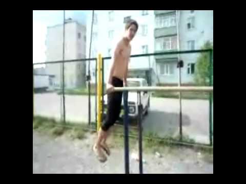 Клип на турниках-Жека и Серега.avi