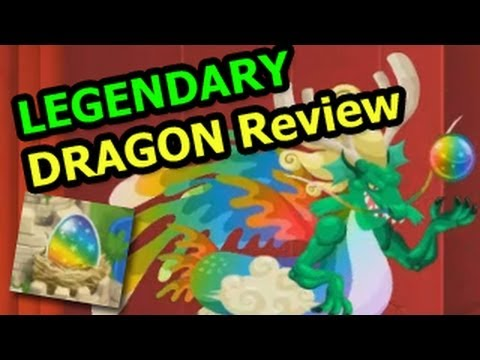 How To GET LEGENDARY Dragon in Dragon City Level Up and Combat Attacks