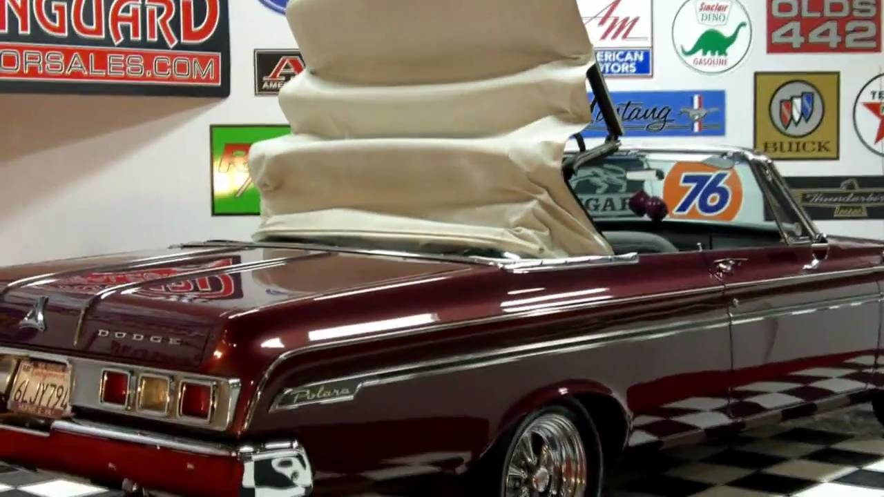 1964 Dodge Polara Big Block Convertible Classic Muscle Car