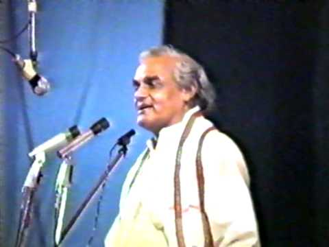 Atal Bihari Bajpai Bhashan Savarkar video