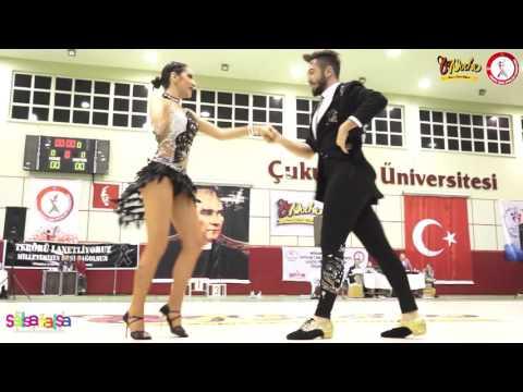 Gökçe Gökçen & Emre Safyarzade Afşar - B Klas 3.leri - Tdsf Adana 2.Etap Salsa Yarışması - 2016