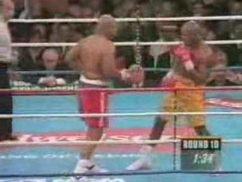 Foreman vs Moorer 10th rd ko