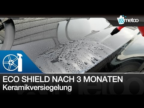 Liquid Elements Eco Shield nach 3 Monaten - Keramikversiegelung vs. Clean Slate | Autopflege in 4K