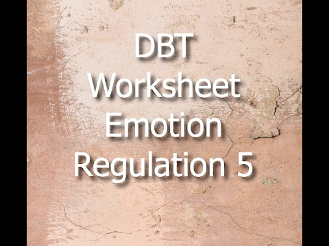 Dbt emotion regulation worksheet 1