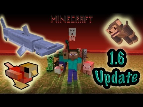 MineCraft 1.5.2 Update! 1.6 Mob Update. Horses. Realms Servers! New Mobs!
