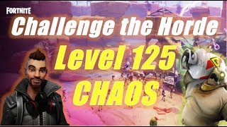 Challenge the Horde, Level 125 Chaos