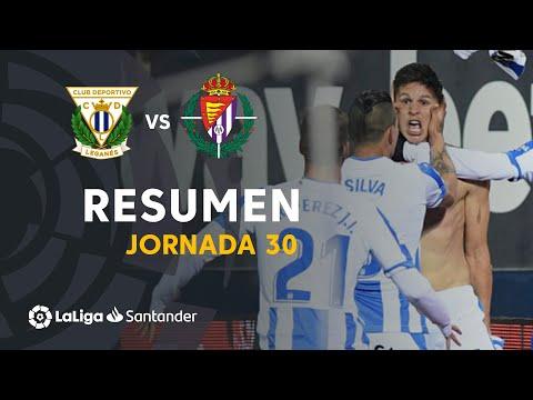 Resumen de CD Leganés vs Real Valladolid (1-0)