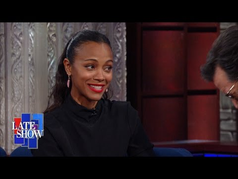"Zoe Saldana: ""Art Has The Ability To Inspire Hope"""