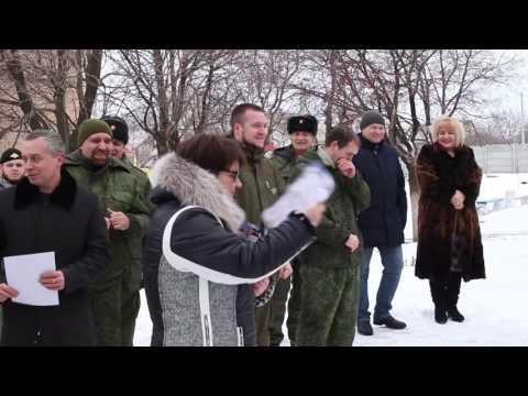Закрытие военно спортивных игр Заря 2017. город Снежное.