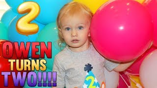 Owen's 2nd Birthday!!