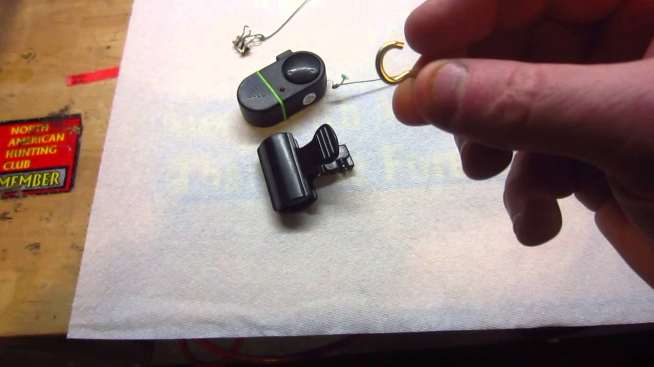 Easy ice fishing tip up alarm for under $3.00!! - YouTube