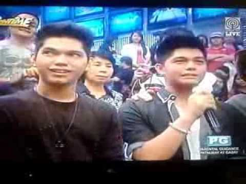 Bruno and Yce's messages for Dad Vhong Navarro