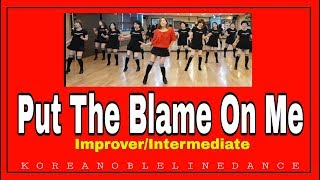Download Lagu Put The Blame On Me Line Dance (Improver / Intermediate )Julia Wetzel Gratis STAFABAND