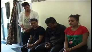 Police arrest Don Abhishek Giri and his girlfriend
