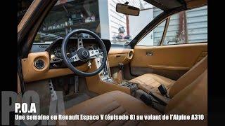 Renault Alpine A310 :  la conduite