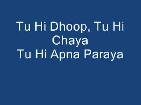 Tujh Main Rab Dikhta Hai Female With Lyrics video