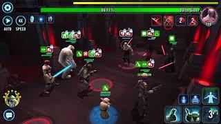 Heroic Sith Raid P2 Boba lead GK Sabine HY and Wampa