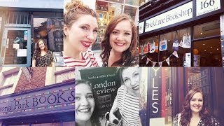 Indie Bookshop Crawl in London.