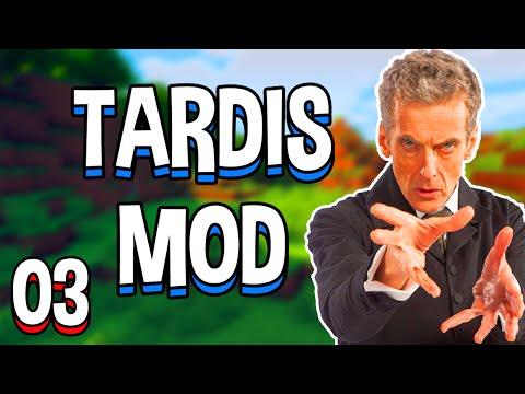 Minecraft TARDIS Mod! Part 3 - Temporal Laboratory Crafting! (Minecraft v1.7.10 Mod Spotlight)