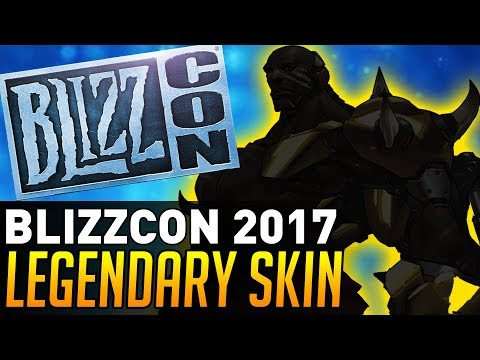 Overwatch | BLIZZCON 2017 LEGENDARY SKIN?