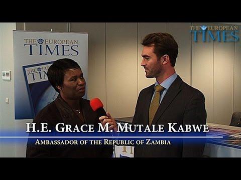 Ambassador Grace Mutale Kabwe, Zambia