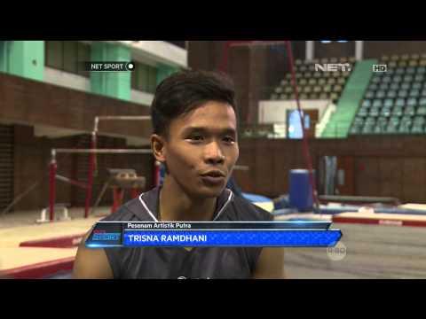 NET Sport - Ditengah Minimnya Anggaran & Fasilitas, Tim Senam Indonesia Siap Hadapi Sea Games 2015