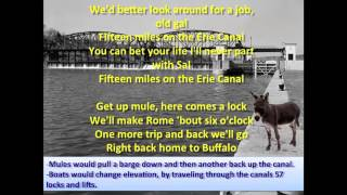 Erie Canal featuring Bruce Springsteen - Lyrics