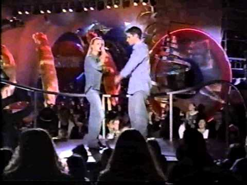 98 Degrees at 2000 Kid Choice Awards / Jessica Simpson & Nick Lachey Where You Are