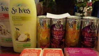 Rite Aid haul  3/26/17. MM St. Ives, MM Simple and Cheap Shea Moisture Soap