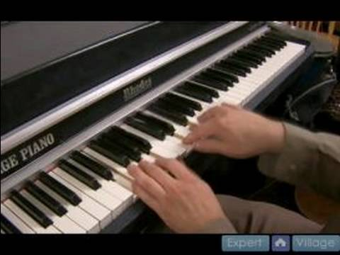 Jazz Piano Lessons In The Key Of C Major : Chord Progressions For Jazz Piano In C Major