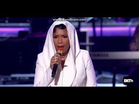 "Jennifer Hudson ""Purple rain"" Performance Prince tribute   Bet Awards 2016 Killed it Amazing perf"