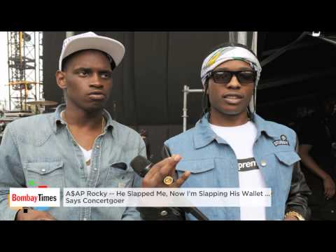 A$AP Rocky Allegedly Slapped A Female Fan - TOI
