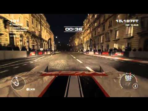 Grid 2 Paris Gameplay HD