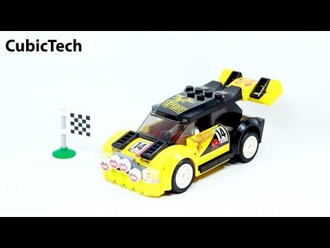 Lego City 60113 Rally Car - Lego Speed Build