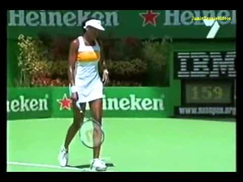 Venus Williams vs Justine Henin 2003 AO Highlights