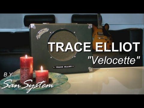 Vintage Amp - TRACE ELLIOT  Velocette